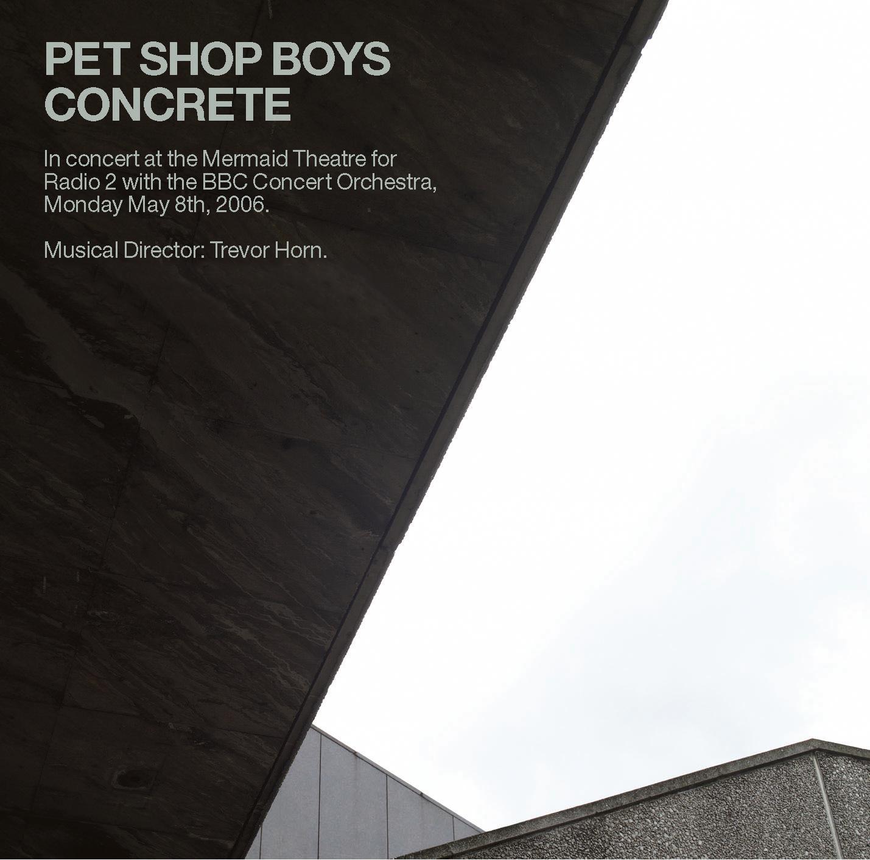 concrete  u2013 pet shop boys  u2013 product