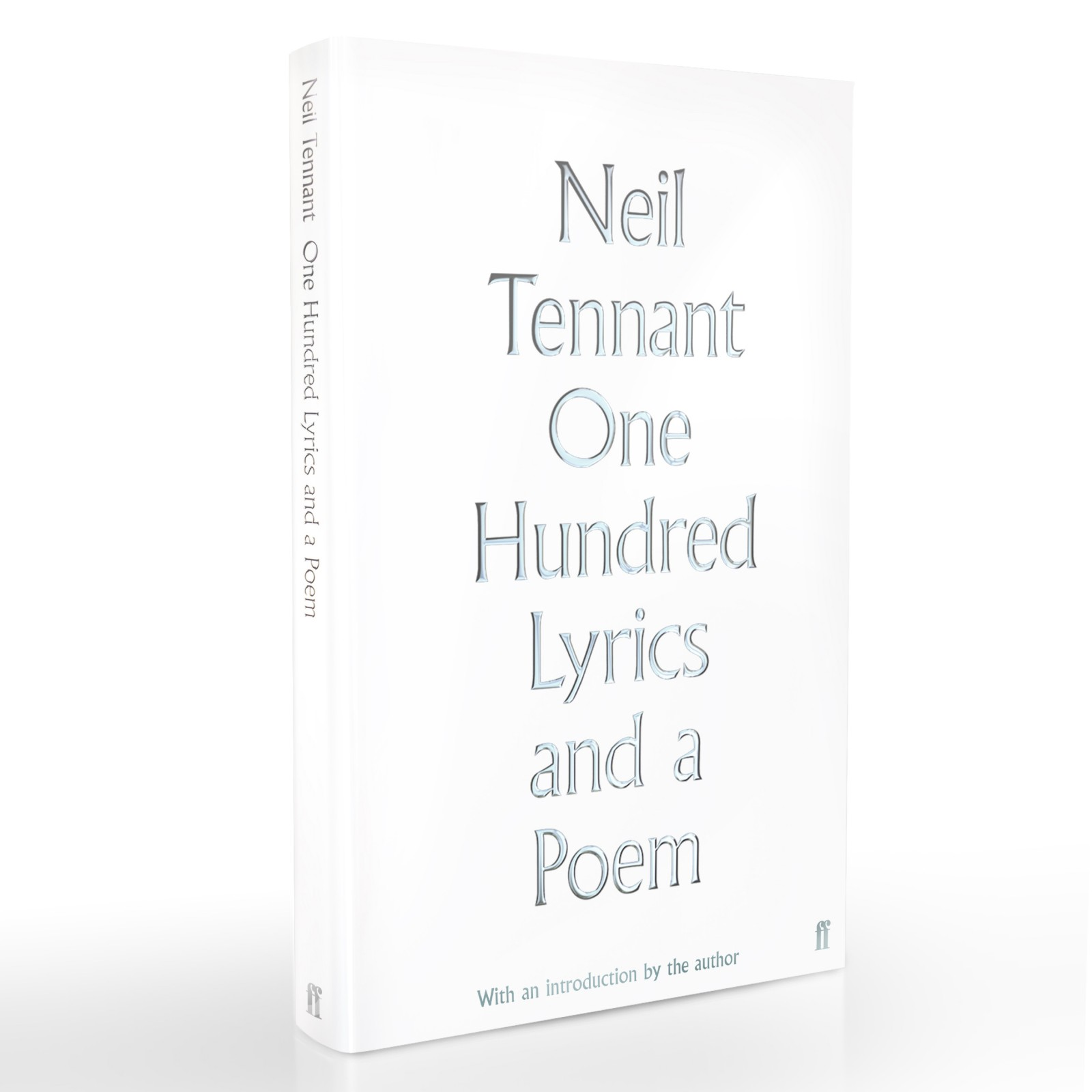 Neil Tennant announces new book