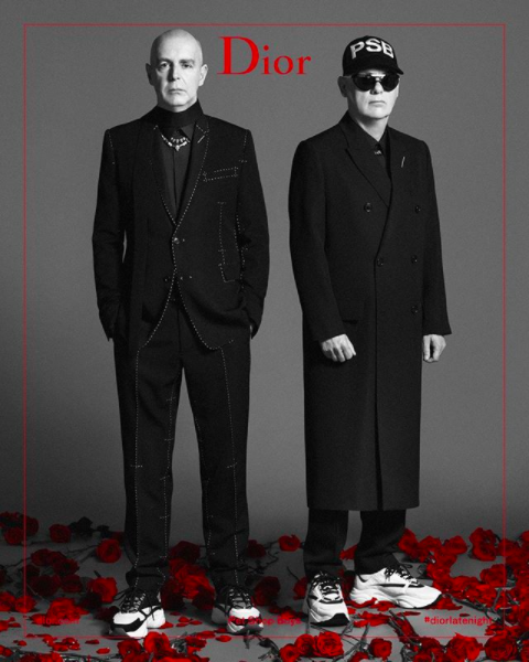 Pet Shop Boys featured in Dior Homme campaign