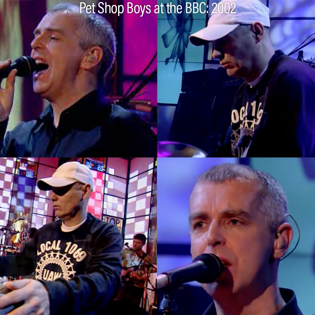At the BBC: 2002 - Top of the Pops 2 special