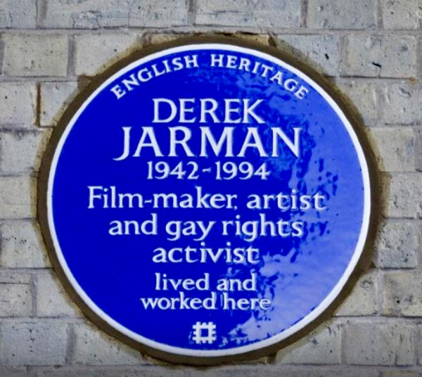 Derek Jarman commemorated