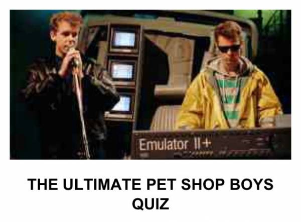 The ultimate PSB quiz