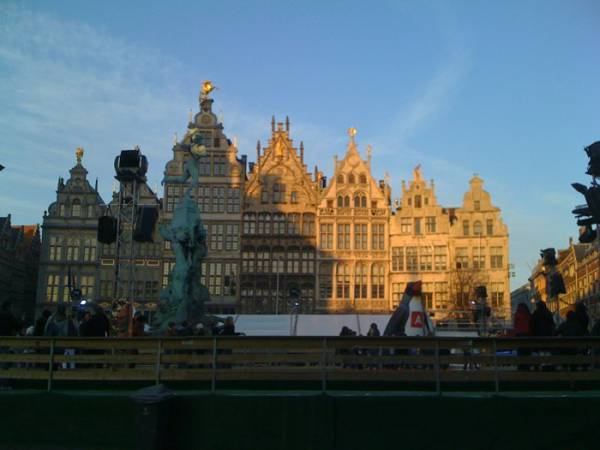Lovely day in Antwerp.