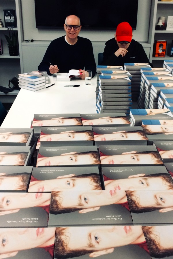 Signing books