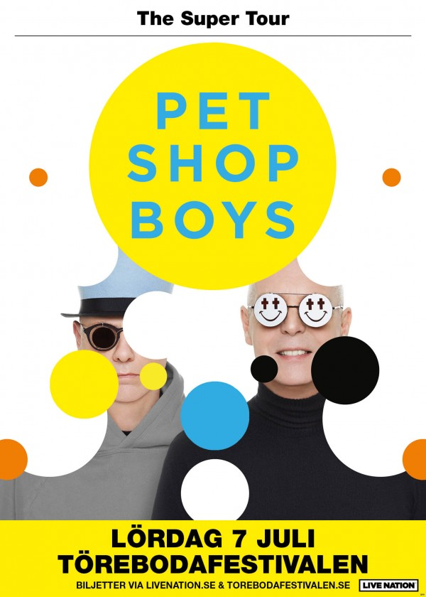 Pet Shop Boys to headline Törebodafestivalen in Sweden