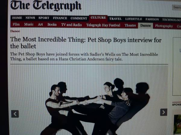 Ballet interview