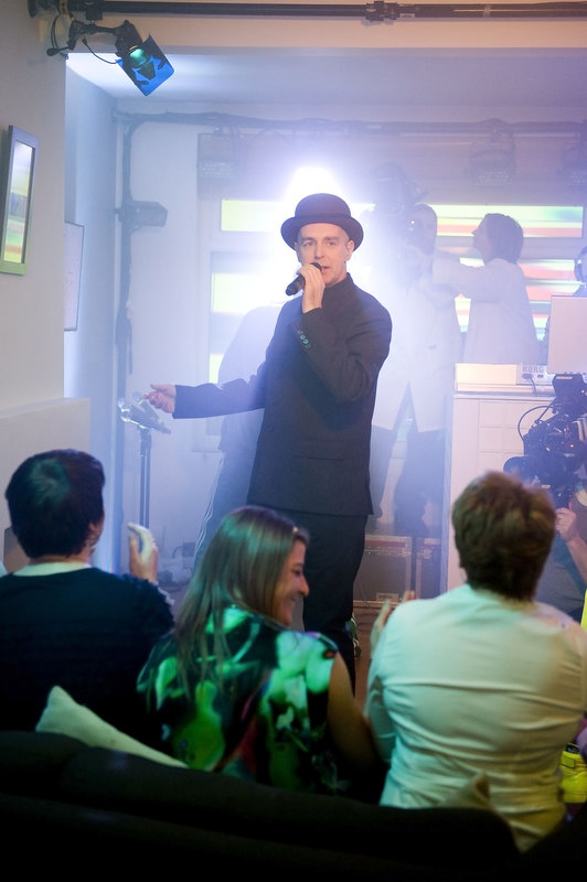 Watch PSB's living room gig