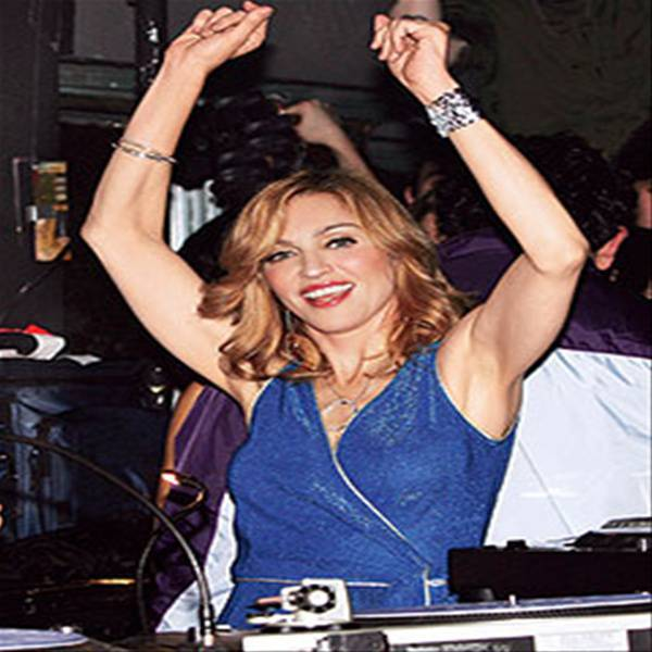 Party like Madonna