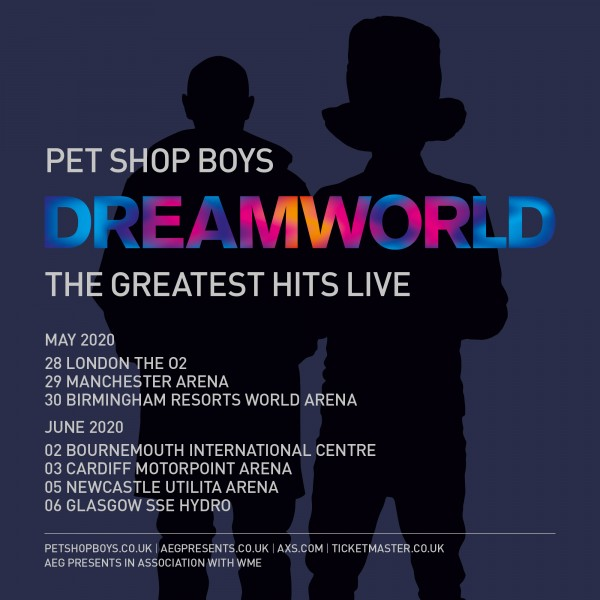Dreamworld: greatest hits tour