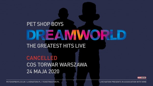 Warsaw show cancelled