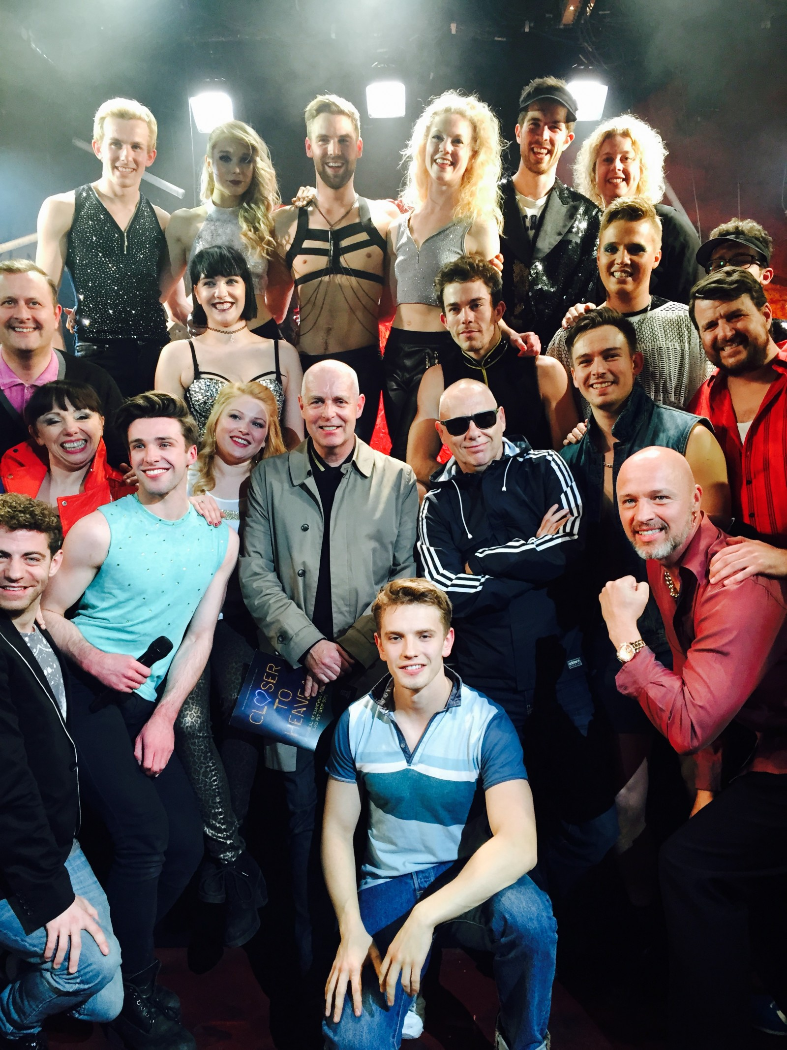 Closer to Heaven, Union Theatre, 2015. PSB with cast.