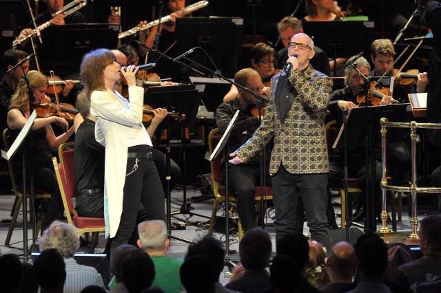 BBC Prom, July 23rd, 2014. Chrissie Hynde and Neil Tennant