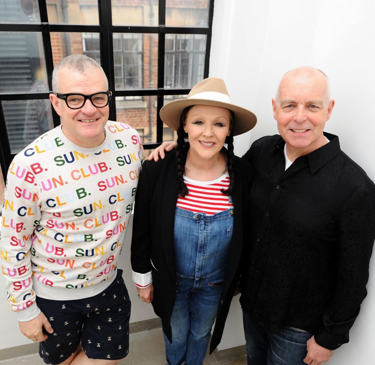 Jonathan Harvey, Frances Barber and Neil Tennant at BBC Radio 2 to talk about
